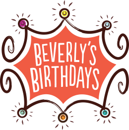 Beverly's Birthdays Logo